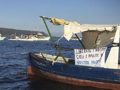 Protesta dei pescatori